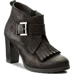 Botki SERGIO BARDI - Brescia FW127255017AG 401. Czarne buty zimowe damskie Sergio Bardi, z nubiku. W wyprzedaży za 239,00 zł.