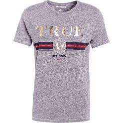 True Religion LOGO Tshirt z nadrukiem grey. Szare t-shirty męskie z nadrukiem True Religion, m, z bawełny. Za 339,00 zł.