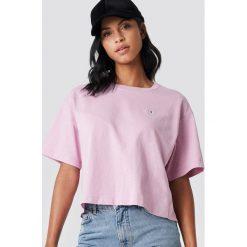 Bluzki, topy, tuniki: Champion T-shirt Oversize - Pink