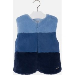 Mayoral - Bezrękawnik dziecięcy 104-134 cm. Niebieskie kurtki dziewczęce przeciwdeszczowe marki Mayoral, z materiału. W wyprzedaży za 119,90 zł.