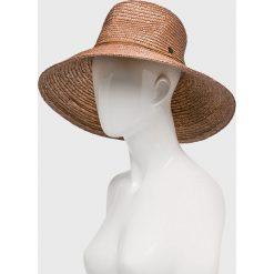 Seafolly - Kapelusz Explorer Fedora. Żółte kapelusze damskie Seafolly. Za 159,90 zł.