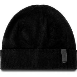 Czapka męska CALVIN KLEIN - Essential Beanie K50K503581 001. Niebieskie czapki damskie marki WED'ZE, z materiału. W wyprzedaży za 199,00 zł.