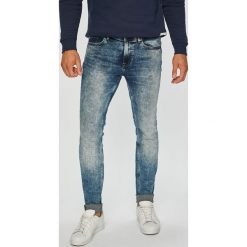 Only & Sons - Jeansy Warp Washed. Niebieskie jeansy męskie regular Only & Sons, z bawełny. Za 219,90 zł.