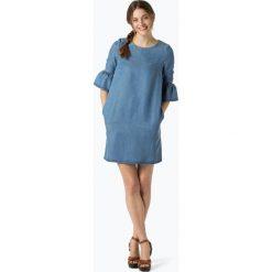 Marie Lund - Sukienka damska, niebieski. Niebieskie sukienki z falbanami marki Marie Lund, z szyfonu, eleganckie. Za 149,95 zł.