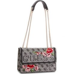 Torebka GUESS - HWSE69 95210 BKF. Szare torebki klasyczne damskie marki Guess, z aplikacjami, ze skóry ekologicznej. Za 599,00 zł.