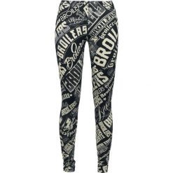 Spodnie damskie: Broilers Logo Legginsy czarny