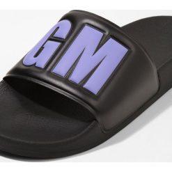 MSGM POOLSLIDE Sandały kąpielowe black/purple. Czarne kąpielówki męskie MSGM, m, z materiału. Za 359,00 zł.