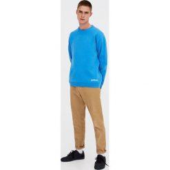 Swetry męskie: Sweter z lewą stroną w kontrastowym kolorze