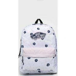 Vans - Plecak. Szare plecaki damskie marki Vans, z gumy, na sznurówki. Za 159,90 zł.