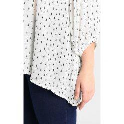 Bluzki asymetryczne: ADIA BLOUSE ROUND NECK PRINT SMALL FLOWERS Bluzka off white