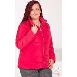 Bomberki damskie: Pikowana kurtka z ornamentem