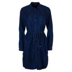 Pepe Jeans Sukienka Damska Monica L Ciemny Niebieski. Niebieskie sukienki balowe marki Pepe Jeans, na lato, l, z jeansu. W wyprzedaży za 419,00 zł.