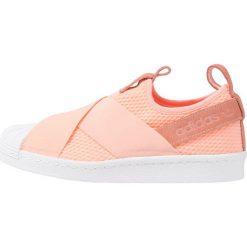 Adidas Originals SUPERSTAR SLIP ON Półbuty wsuwane clear orange/footwear white. Czerwone półbuty damskie skórzane marki adidas Originals, na niskim obcasie. Za 379,00 zł.