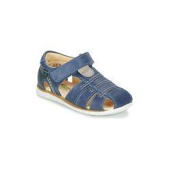 Sandały Dziecko  El Naturalista  NAURU. Niebieskie sandały chłopięce El Naturalista. Za 271,20 zł.