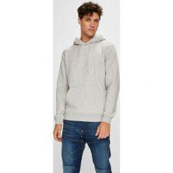 Quiksilver - Bluza. Szare bluzy męskie rozpinane Quiksilver, m, z bawełny, z kapturem. Za 249,90 zł.