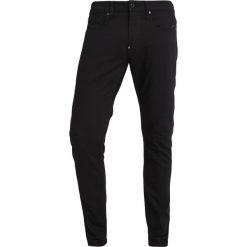 GStar REVEND SKINNY Jeans Skinny Fit rinsed. Czarne rurki męskie G-Star, z bawełny. Za 469,00 zł.
