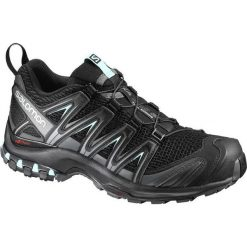 Buty trekkingowe damskie: Salomon Buty damskie Xa Pro 3D W Black/Magnet/Fair Aqua r. 38 (393269)