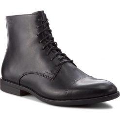 Kozaki VAGABOND - Harvey 4663-101-20 Black. Czarne buty zimowe męskie marki Vagabond, z materiału. Za 669,00 zł.
