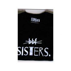 T-shirt BBF SISTERS. Czarne t-shirty damskie Funfara, s, z bawełny. Za 79,00 zł.