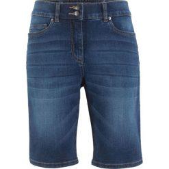 "Szorty bermudy ""push up"" STRAIGHT bonprix niebieski ""stone"". Niebieskie bermudy damskie bonprix, z jeansu. Za 109,99 zł."