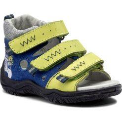 Sandały BARTEK - 11071-607 Niebiesko Kiwi. Niebieskie sandały męskie skórzane Bartek. W wyprzedaży za 159,00 zł.
