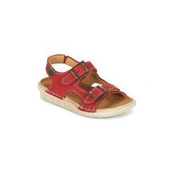 Sandały Dziecko  El Naturalista  TERRA. Czerwone sandały chłopięce El Naturalista. Za 247,20 zł.