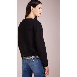 Emporio Armani Bluza nero. Czarne bluzy rozpinane damskie Emporio Armani, z bawełny. Za 879,00 zł.