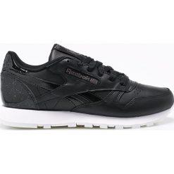 Reebok Classic - Buty Classic Leather. Czarne buty sportowe damskie reebok classic Reebok Classic, z gumy. W wyprzedaży za 249,90 zł.