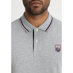 GANT TECH PREP RUGGER Koszulka polo light grey melange. Szare koszulki polo GANT, m, z bawełny. Za 509,00 zł.