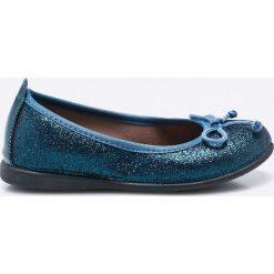 Gioseppo - Baleriny dziecięce. Niebieskie baleriny dziewczęce Gioseppo, z materiału. W wyprzedaży za 79,90 zł.