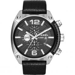 Zegarek DIESEL - Overflow DZ4341 Black/Silver/Steel. Czarne zegarki męskie Diesel. Za 849,00 zł.