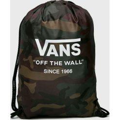 Vans - Plecak. Czarne plecaki męskie Vans. W wyprzedaży za 34,90 zł.