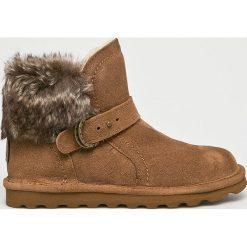 Bearpaw - Śniegowce Koko. Brązowe śniegowce damskie marki NEWFEEL, z gumy. Za 479,90 zł.