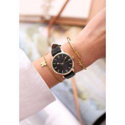 Biżuteria i zegarki: Czarny Zegarek Cyclamen