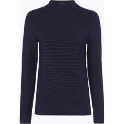 Marie Lund - Sweter damski, niebieski. Niebieskie swetry klasyczne damskie Marie Lund, l, z dzianiny, ze stójką. Za 129,95 zł.
