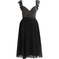 Sukienki hiszpanki: Needle & Thread SWAN Sukienka koktajlowa washed black