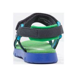 Camper MIRA  Sandały multicolor. Niebieskie sandały chłopięce Camper, z materiału, z otwartym noskiem. W wyprzedaży za 209,30 zł.