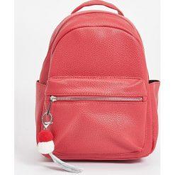Plecaki damskie: Plecak z ozdobnymi ramiączkami – Czerwony