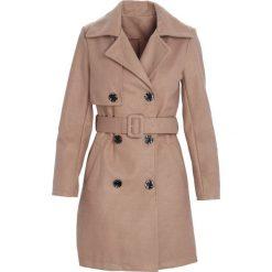 Płaszcze damskie: Beżowy Płaszcz Observation