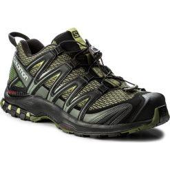 Buty SALOMON - Xa Pro 3D 392519 27 V0 Chive/Black/Beluga. Zielone buty do biegania męskie Salomon, z materiału, na sznurówki. W wyprzedaży za 389,00 zł.