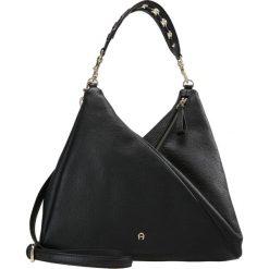 Shopper bag damskie: Aigner CARLIE ASSYMETRIC BUCKET Torba na zakupy black