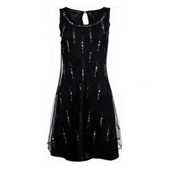 Desigual Sukienka Damska S Czarny. Czarne sukienki marki Desigual, s. W wyprzedaży za 259,00 zł.