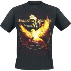 T-shirty męskie: Saltatio Mortis Aus der Asche T-Shirt czarny