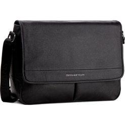 Torba TRUSSARDI JEANS - New York 71B00025  K299. Czarne torby na laptopa marki Trussardi Jeans, z jeansu. W wyprzedaży za 369,00 zł.