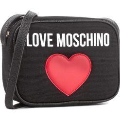 Torebka LOVE MOSCHINO - JC4138PP15L3000A Nero. Czarne listonoszki damskie Love Moschino. W wyprzedaży za 339,00 zł.