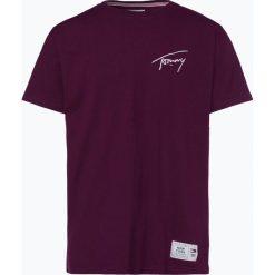 Tommy Jeans - T-shirt męski, lila. Brązowe t-shirty męskie z nadrukiem Tommy Jeans, m, z jeansu. Za 179,95 zł.
