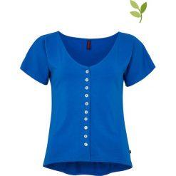 """T-shirty damskie: Koszulka """"Unna"""" w kolorze niebieskim"""