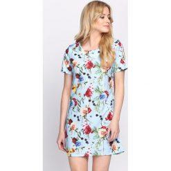 Niebieska Sukienka Feels Like Summer. Niebieskie sukienki letnie marki Born2be, m, mini. Za 74,99 zł.