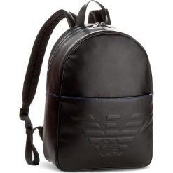 Plecak EMPORIO ARMANI - Y4O163 YG90J 81072 Black. Szare plecaki męskie marki Emporio Armani, l, z nadrukiem, z bawełny, z okrągłym kołnierzem. W wyprzedaży za 749,00 zł.