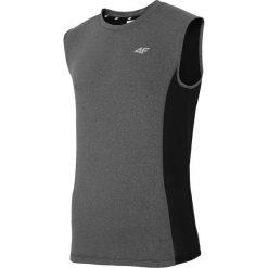 Koszulki do fitnessu męskie: Męska koszulka sportowa 4F Dry Control Grey